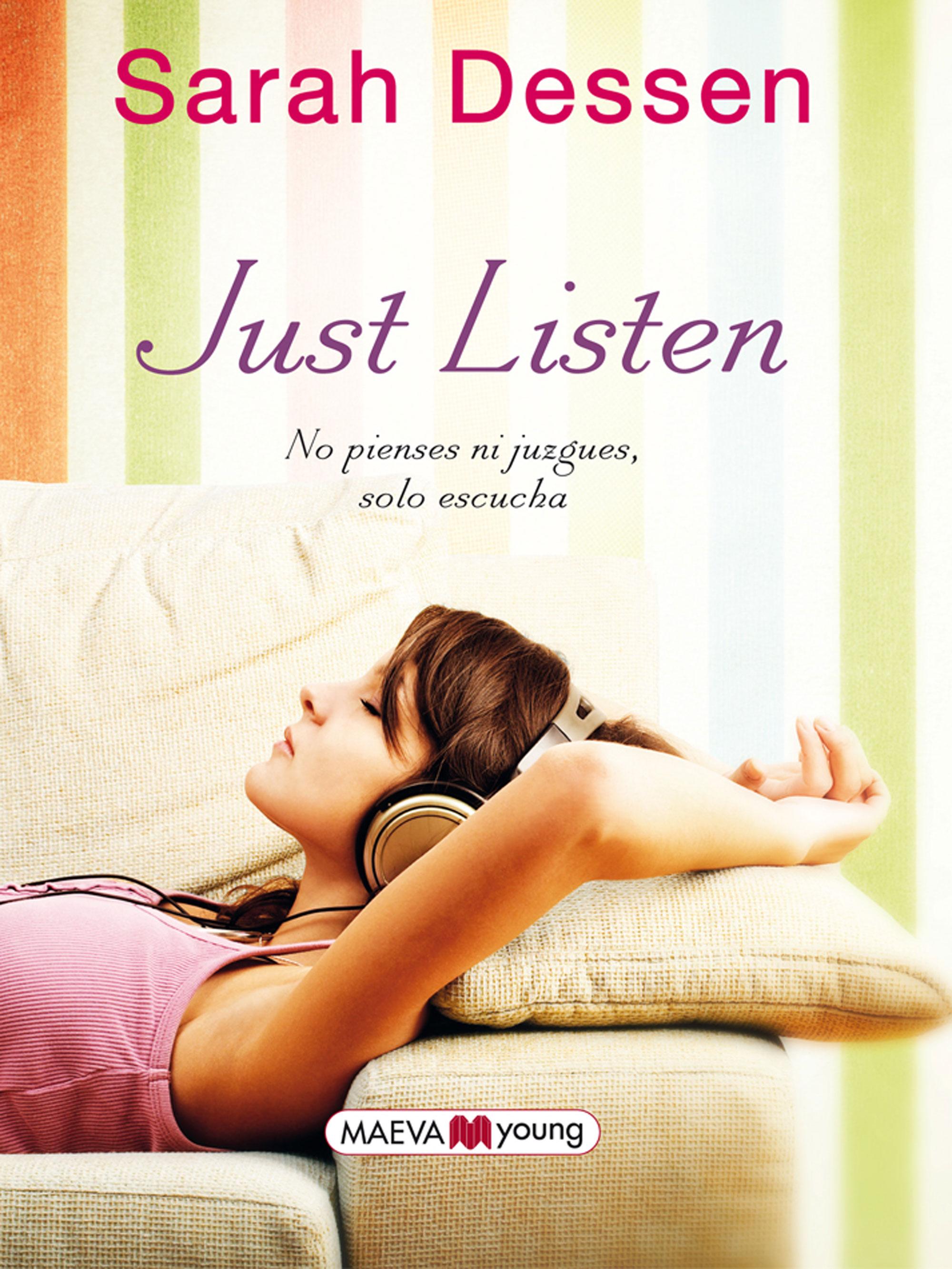 Resultado de imagen de portada de just listen